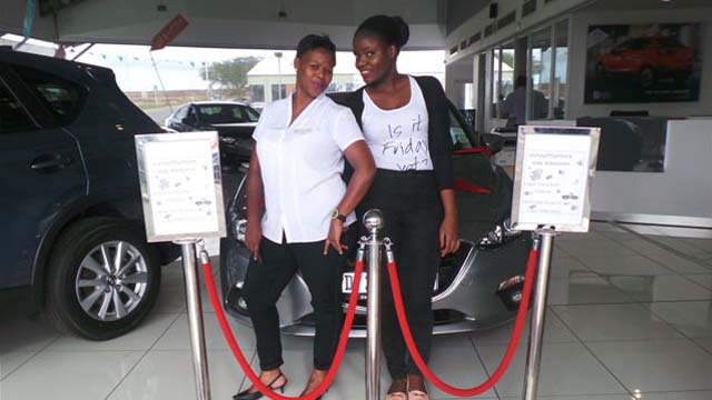 CMH Mazda Umhlanga Deliveries Miss Sophy Mbokodo