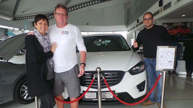 CMH Mazda Umhlanga Deliveries Mr Bodeker