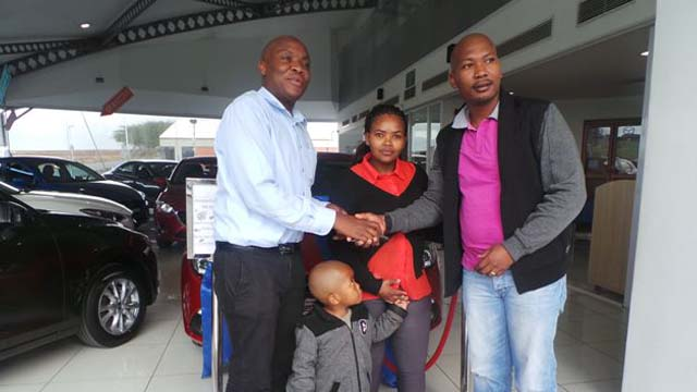 CMH Mazda Umhlanga Deliveries Mr Z Mgoqi