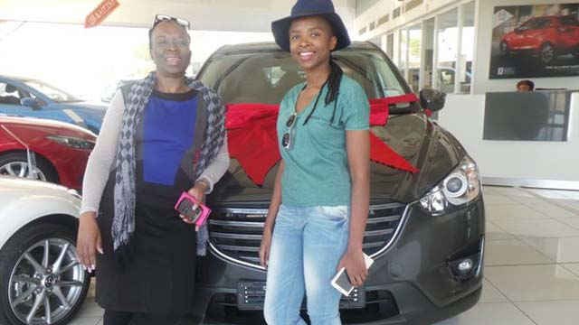 CMH Mazda Umhlanga Deliveries Mrs Ntuli