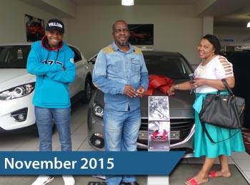 CMH Mazda Durban November 2015