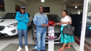 CMH Mazda Durban Deliveries Dludla Family