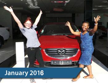 CMH Mazda Hatfield Deliveries – January 2016