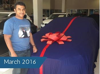 CMH Mazda Durban Deliveries – March 2016