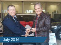 CMH Mazda Menlyn Deliveries – July 2016