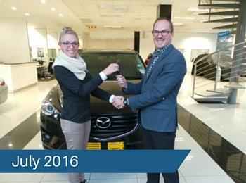 CMH Mazda Hatfield Deliveries – July 2016