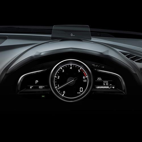 Mazda 3 Hatch Interior