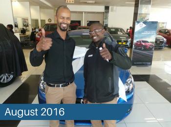 CMH Mazda Hatfield Deliveries – August 2016