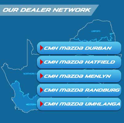 Mazda Dealers Map