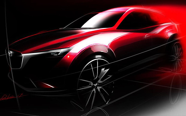 First official image of New Mazda CX-3