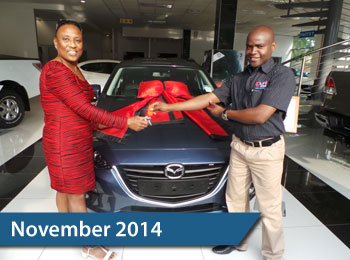 CMH Mazda Hatfield Deliveries – November 2014