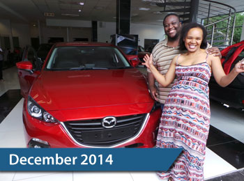 CMH Mazda Hatfield Deliveries – December 2014