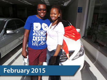 CMH Mazda Hatfield Deliveries – February 2015