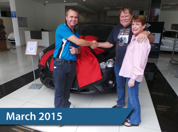 CMH Mazda Hatfield Deliveries – March 2015