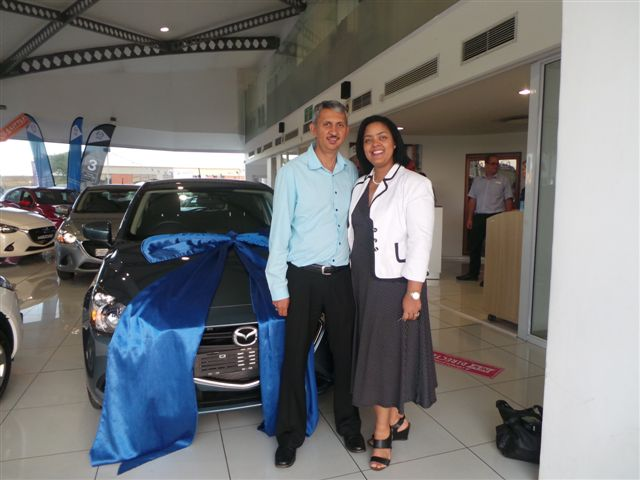 CMH Mazda Menlyn Deliveries Mr Kersten Grote