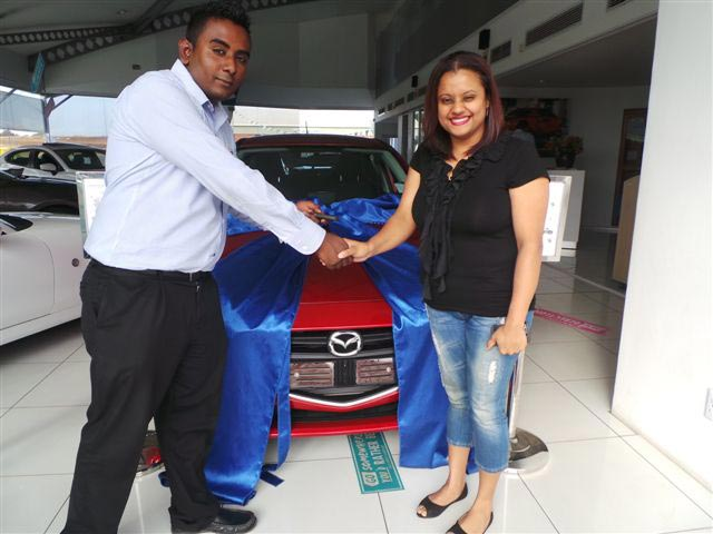 CMH Mazda Menlyn Deliveries Mr Christodoulos