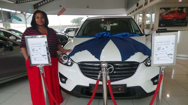 CMH Mazda Umhlanga Deliveries Miss Luvano