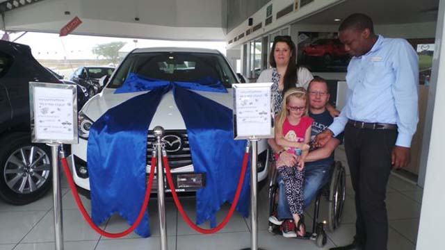 CMH Mazda Umhlanga Deliveries Mr Nielsen