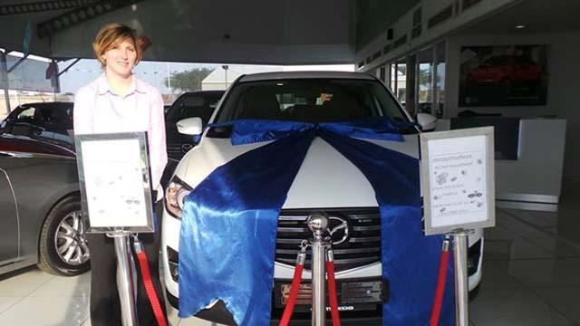 CMH Mazda Umhlanga Deliveries Mrs Jenna Von Mollendorff