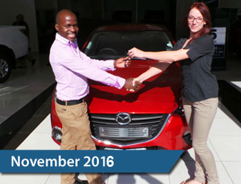 CMH Mazda Hatfield Deliveries – November 2015