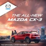 CMH Mazda CX-3 Advert