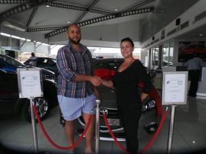 CMH Mazda Umhlanga Deliveries: ALLAYNE KROUTZ