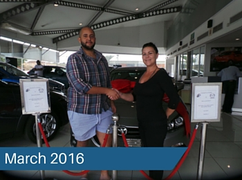 CMH Mazda Umhlanga Deliveries – March 2016