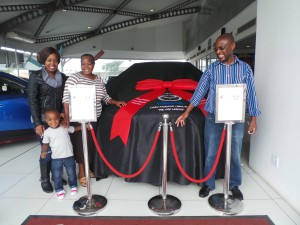 CMH Mazda Umhlanga Mr and Mrs Mbona Mazda CX3
