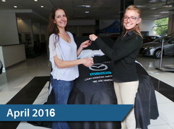 CMH Mazda Hatfield Deliveries – April 2016