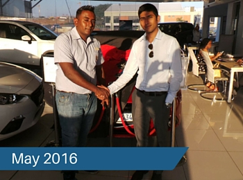 CMH Mazda Umhlanga Deliveries – May 2016