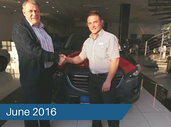 CMH Mazda Hatfield Deliveries – June 2016