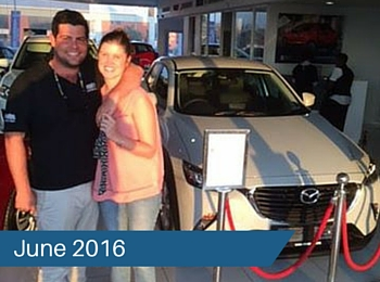 CMH Mazda Umhlanga Deliveries – June 2016
