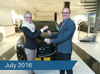 CMH Mazda Hatfield Deliveries – July 2016