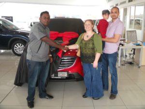 CMH Mazda Umhlanga CMH MAZDA UMHLANGA DELIVERIES - AUGUST 2016