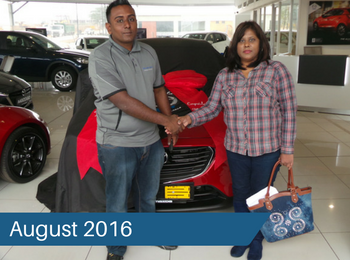 CMH Mazda Umhlanga Deliveries – August 2016