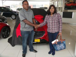 CMH MAZDA UMHLANGA DELIVERIES - AUGUST 2016