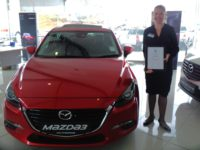 CMH Mazda Umhlanga wins Best Performing Small Dealership in KZN Award 2016