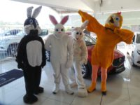 CMH Mazda Umhlanga sharing the Easter Festivities With Our EGGstatic Faces And EGGciting Smiles