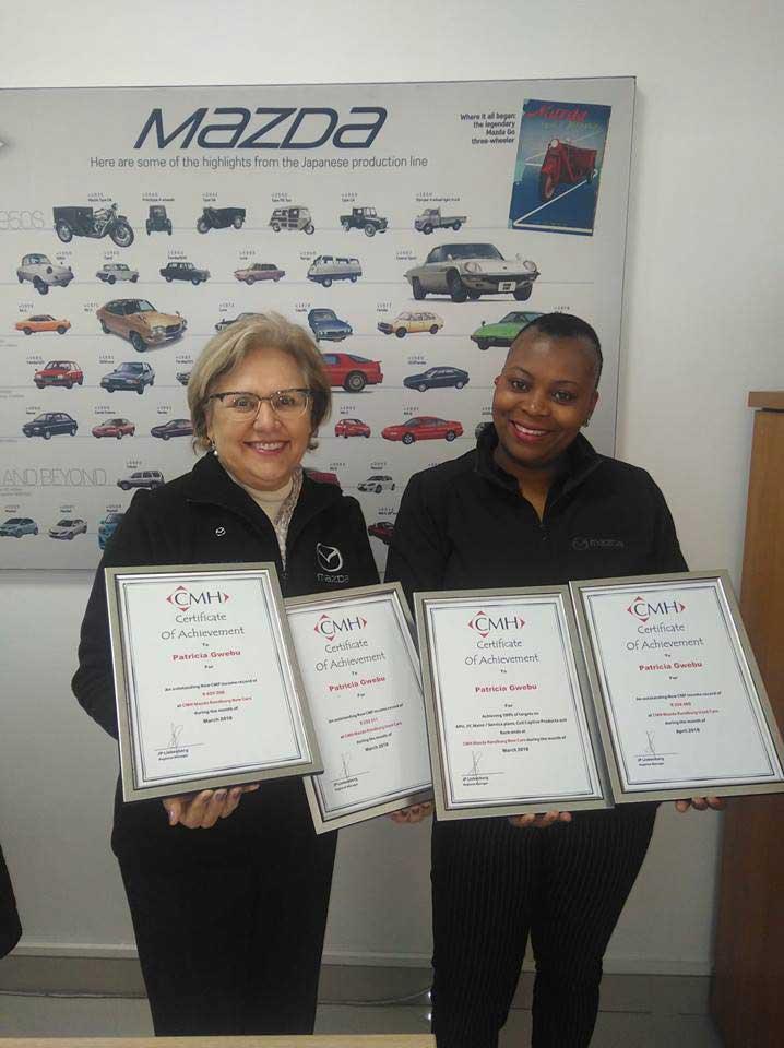CMH Mazda Randburg- Patricia-F&-I