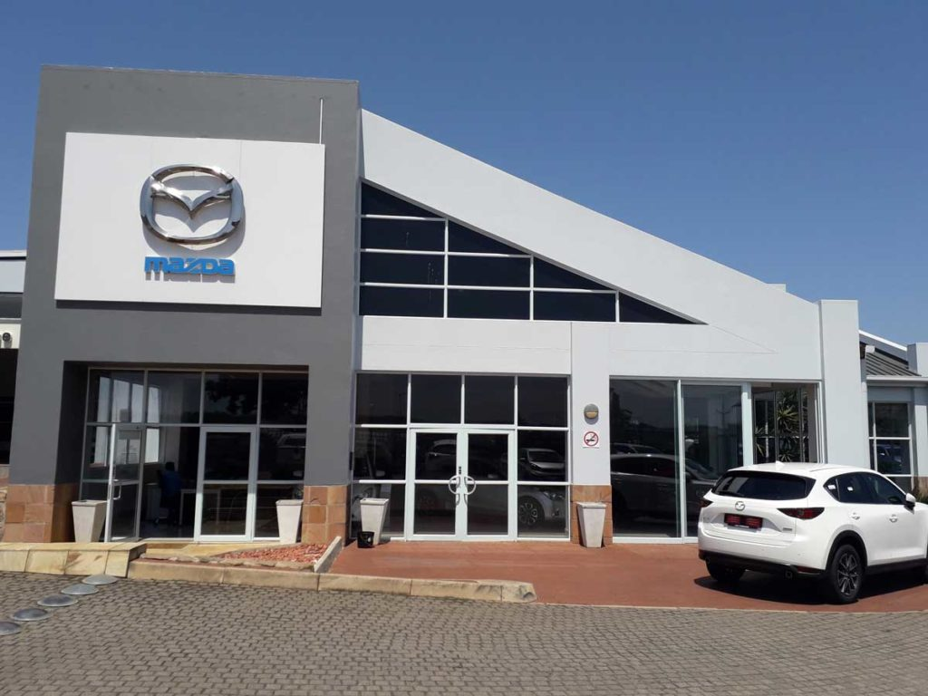 CMH Mazda Umhlanga- Showroom Building