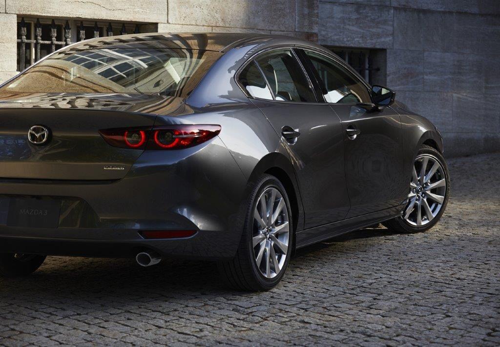 CMH Mazd- New Mazda 3 Grey Sedan