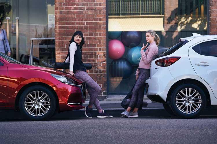 CMH Mazda Umhlanga - Red Mazda 2 - White Mazda 2