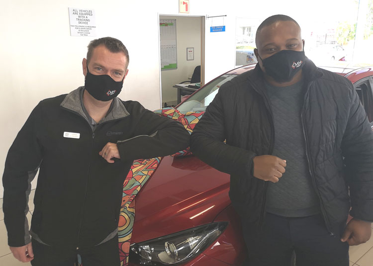 CMH Mazda Hatfield is open - Face-masks