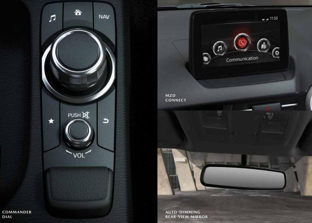 CMH-Mazda-Hatfield-Mazda 2 Dynamic - Infotainment