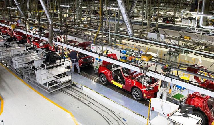CMH-Mazda-Hatfield---Production - Mazda Motor Corporation