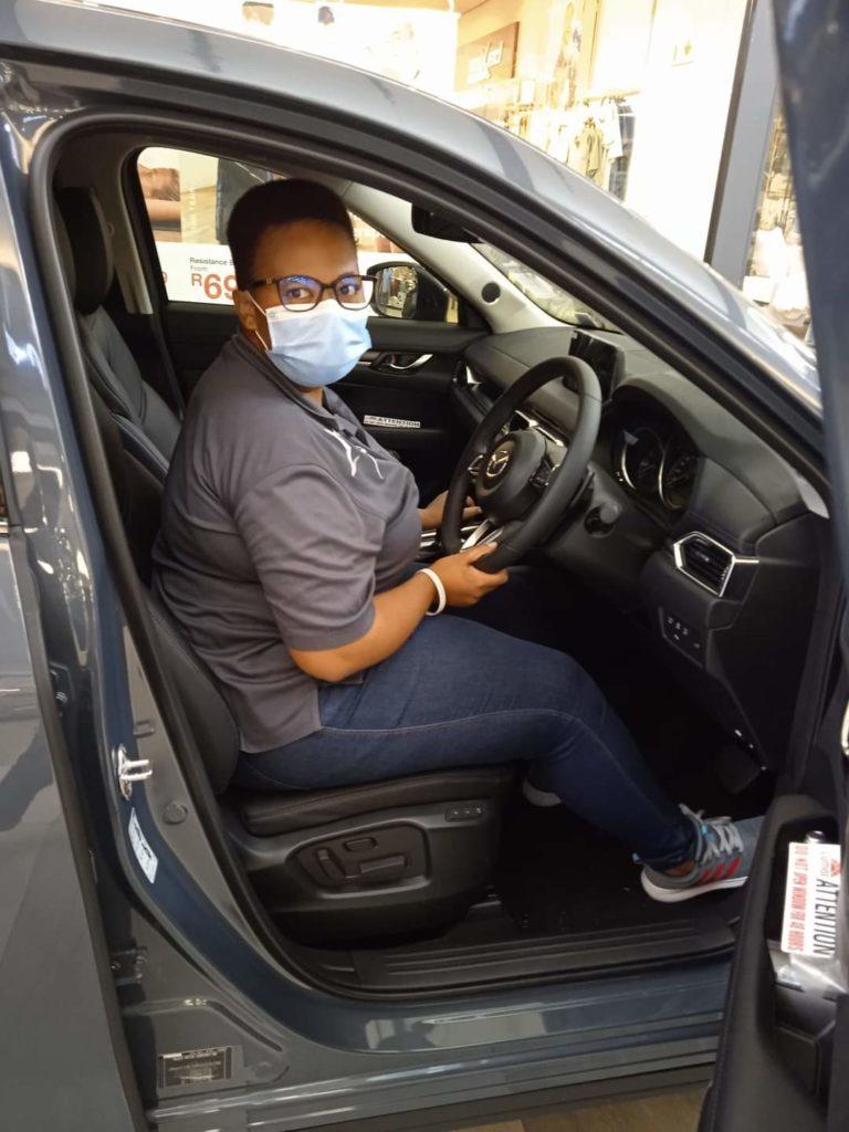 Customer in Mazda