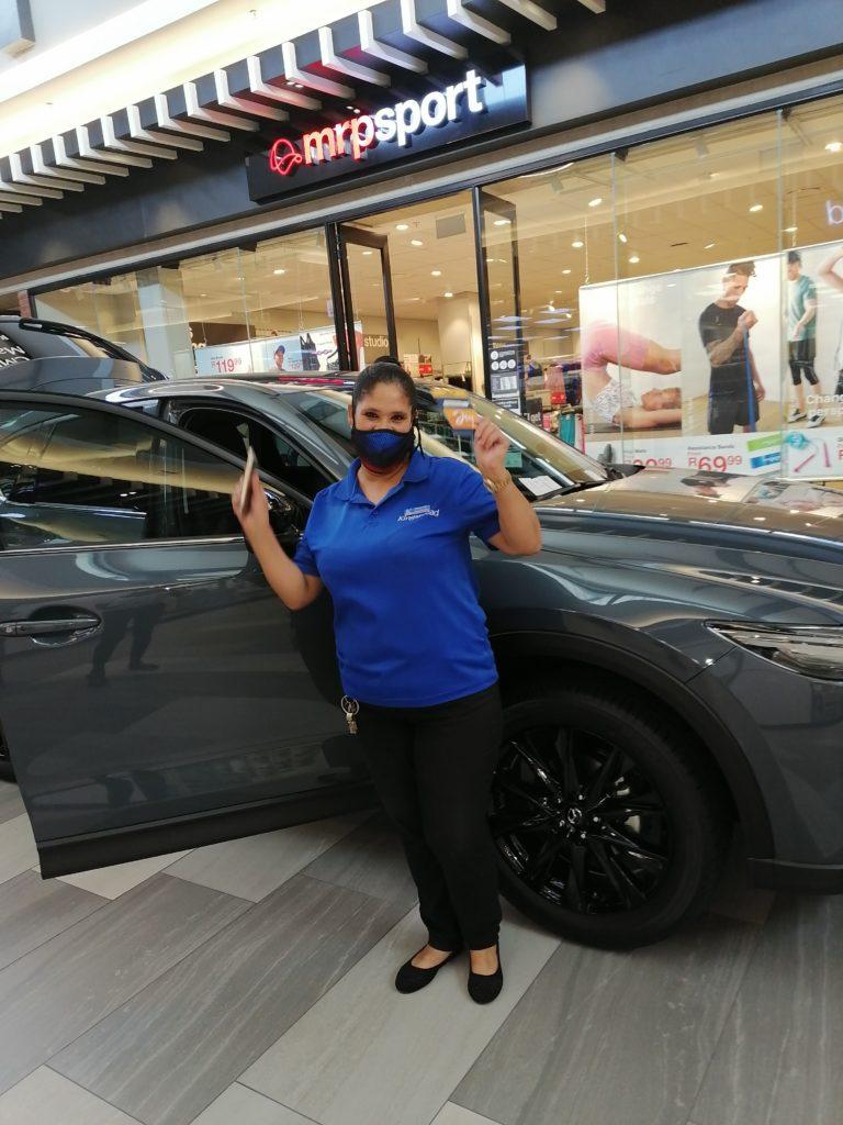 Mazda Customer Pic at Mall