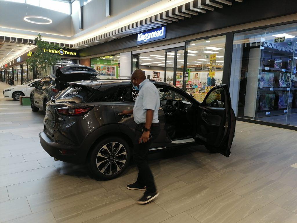 Mazda Mall Display