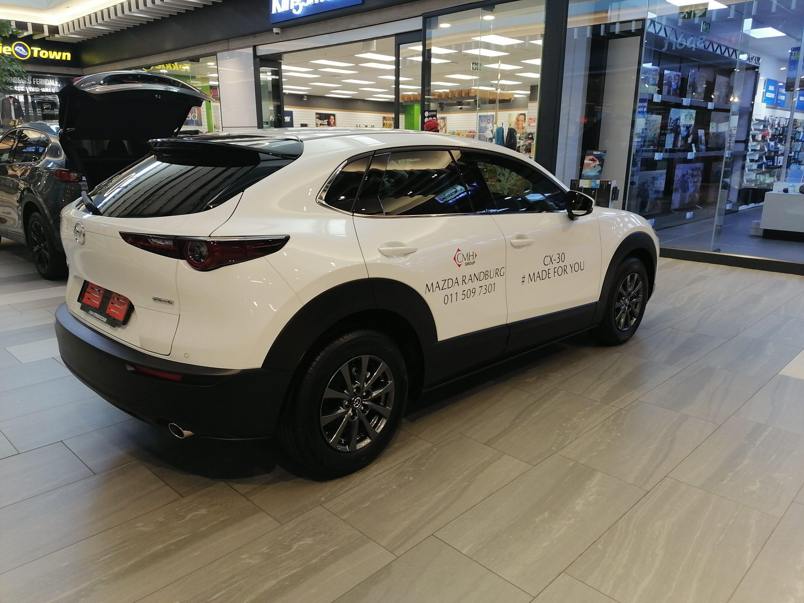 Mazda CX-30 Mall Display