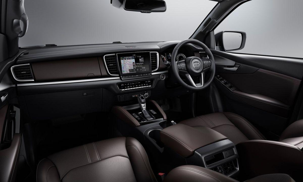 Mazda BT50 front interior